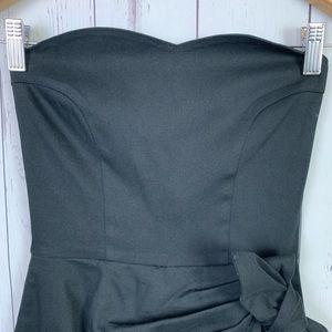 Mara Hoffman Pants - Mara Hoffman | romper | black bow detail | XS
